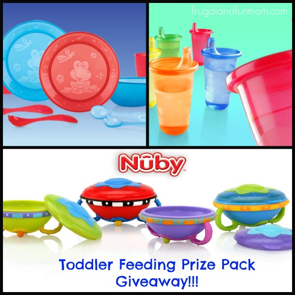 Nuby Feeding Prize Pack Giveaway