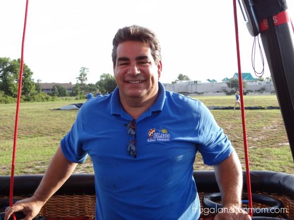 Pilot of of Hot Air Ballon Ride Orlado Florida