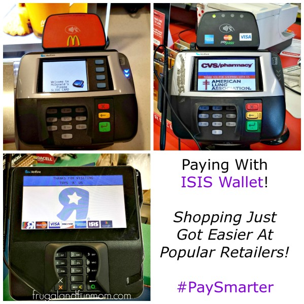 Shopping at Stores with the ISIS Mobile Wallet