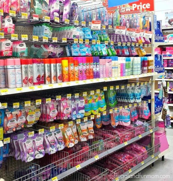 Skintimate Mandarin Burst and Schick Xtreme3 Hawaiian Tropic Razor on the Shelf at Walmart #SummerizeYourLegs #CollectiveBias