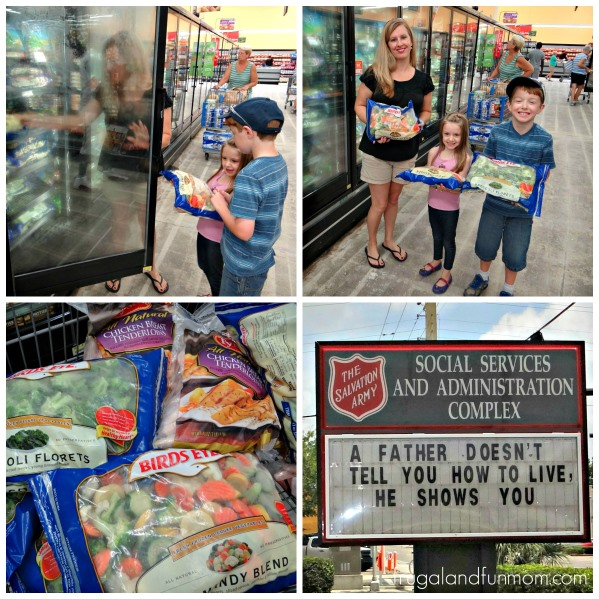 Summer of Giving Donation to the Salvation Army