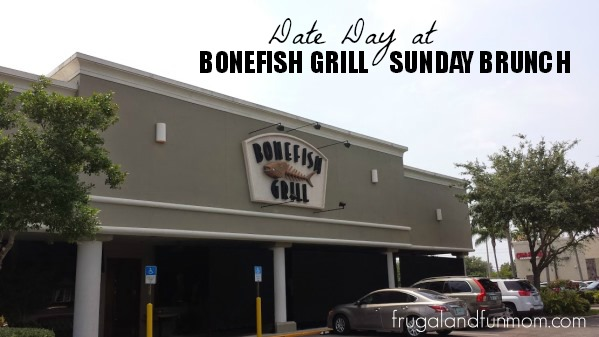 Sunday Brunch at Bonefish Grill on Date Day