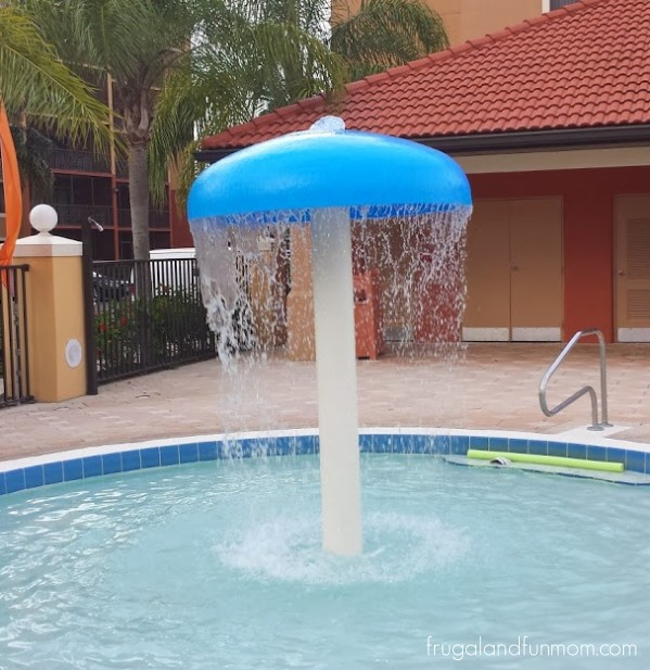 Water Feature for kids at a Pool Westgate Lakes Resort and Spa