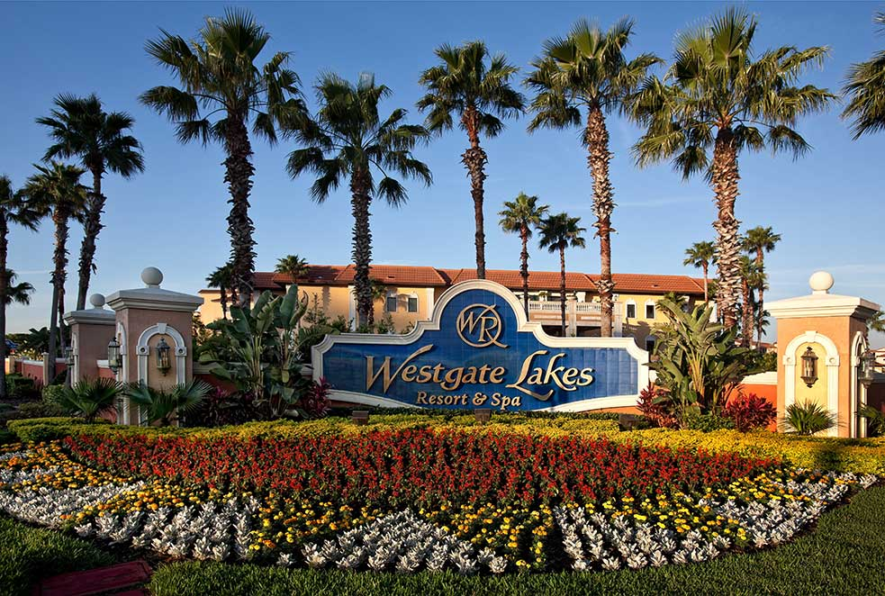 Westgate Lakes and Resort Entrance