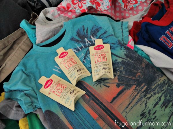 Clothes washed in ology detergent Walgreens
