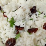 Cranberry Rice Recipe Using Lemon As An Alternative To Salt! #TableTheSalt