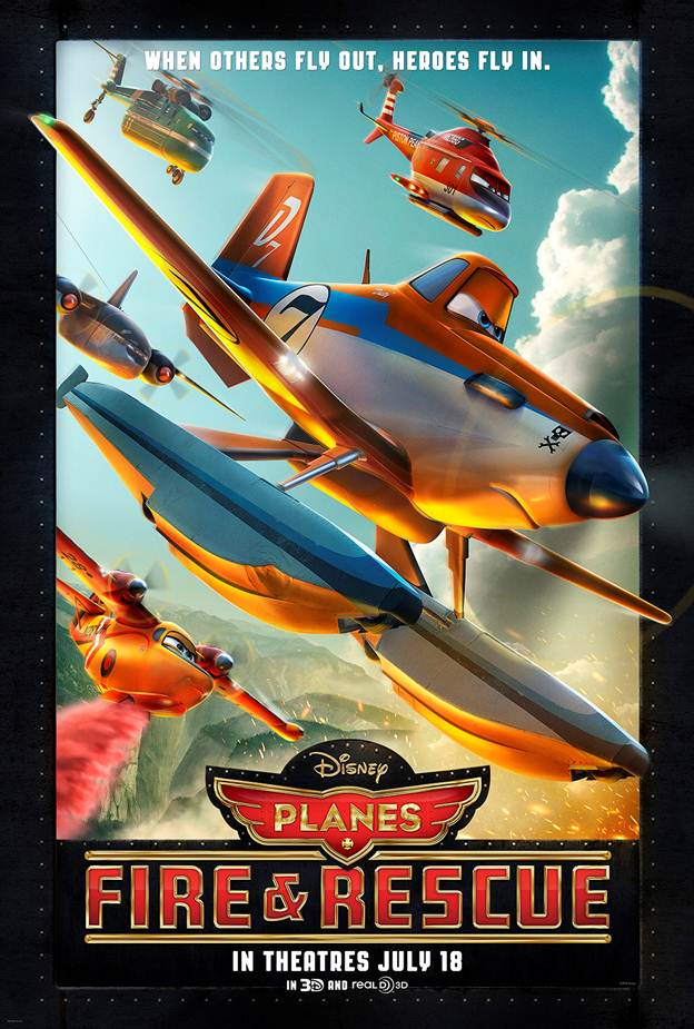 Disney Planes Fire and Rescue Poster