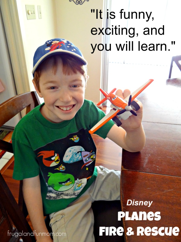 Disney Planes Fire and Rescue Review