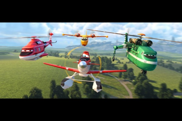 Disney planes fire and rescue team