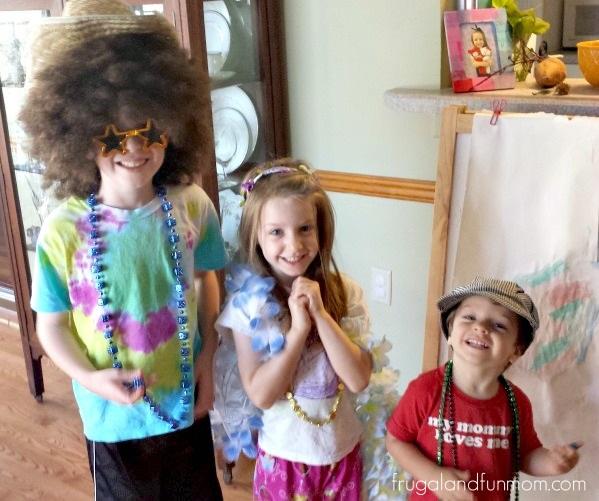 Dress Up Summer Activity