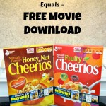 Cheerios Cereal Trail Mix and FREE Big G Digital Movie Download! #biggcerealmovies