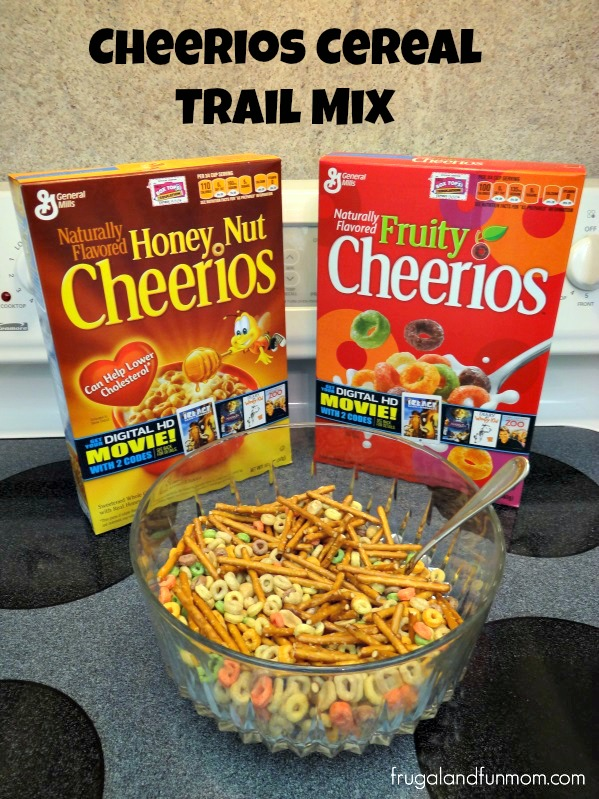 FREE Big G Digital Movie Download General Mills Cheerios Trail Mix