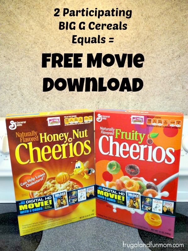 FREE Big G Digital Movie Download General Mills