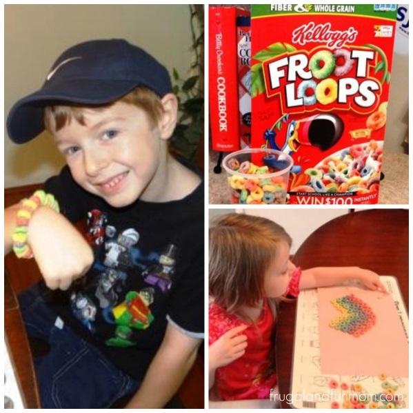 Froot Loop Activities