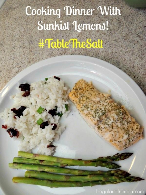 Cranberry Rice Recipe Using Lemon As An Alternative To Salt! #TableTheSalt