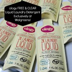 ology FREE & Clear Liquid Laundry Detergent Exclusively at Walgreens! Made With Natural Ingredients!