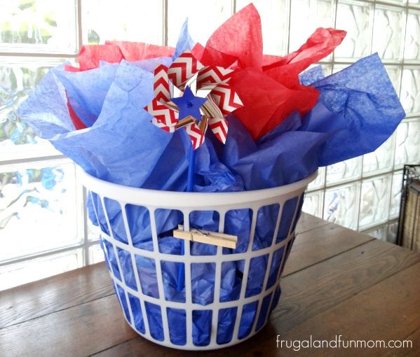 Laundry Shower Gift Idea With Baby Essentials for Boy
