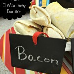 Back To School Giveaway and Easy Breakfast Bar With El Monterey Burritos and Peach Salsa!