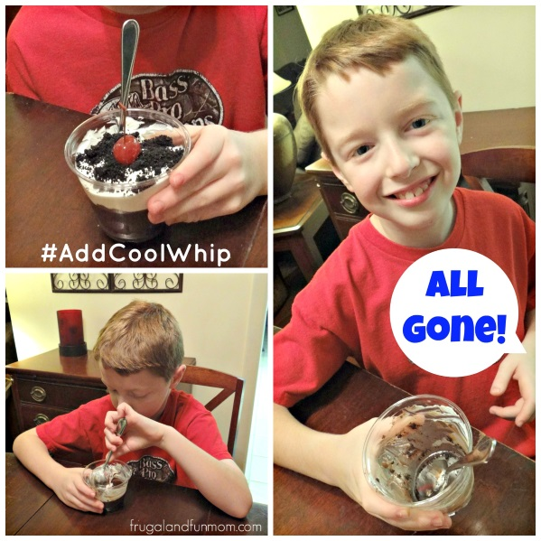 Cookies and Cream Dessert Chocolate Pie Cups #AddCoolWhip #shop #cbias