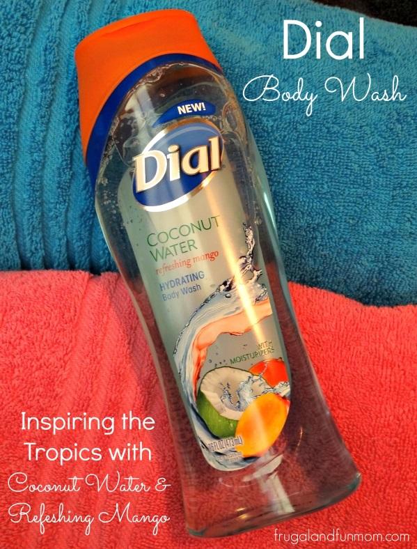 Dial Coconut Water Refreshing Mango Body Wash