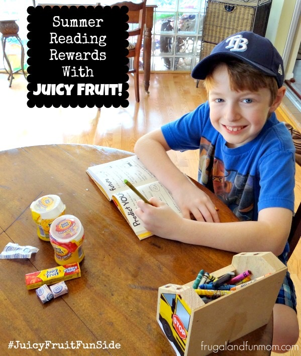 Showing Our #JuicyFruitFunSide Through Summer Reading Rewards! #Shop #Cbias