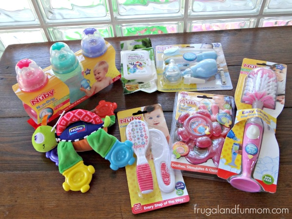 New Baby Gift Ideas Mumsnet : Baby shower gift idea with essentials in a laundry basket
