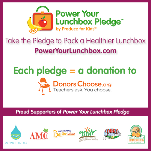 24 Lunch Ideas for School! Plus The #PowerYourLunchbox Pledge and Contest!