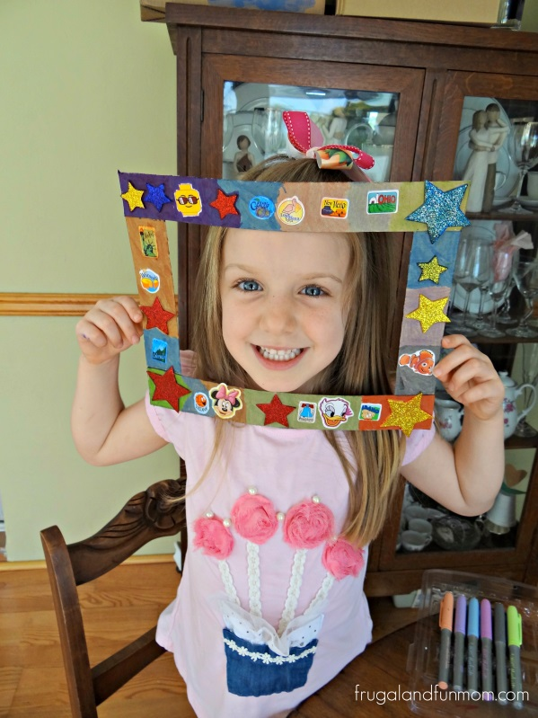 Superstar Frame Back To School #Craft #DIY