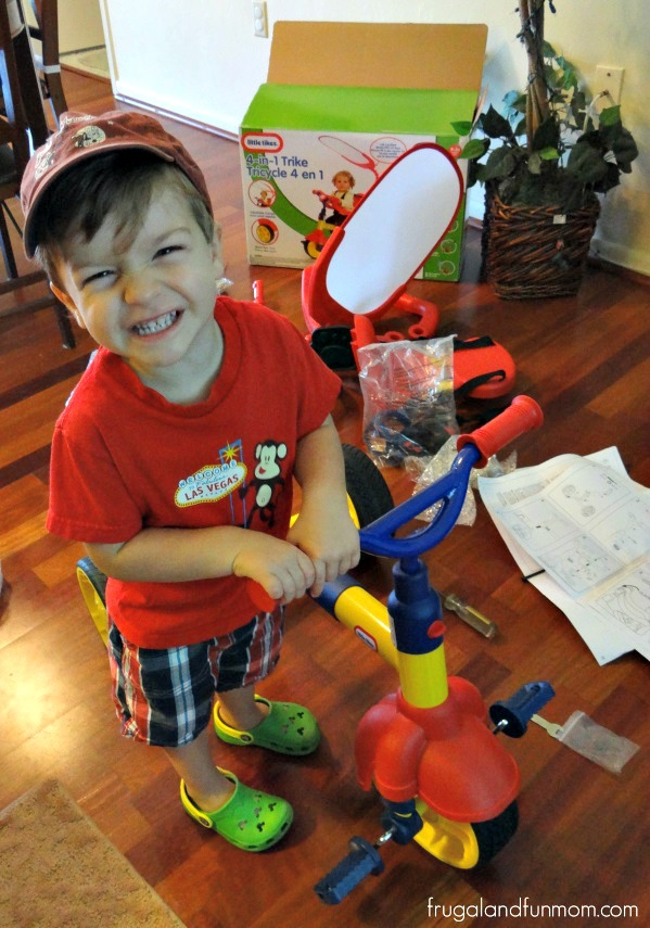 Assembly of Little Tikes 4 in 1 Trike