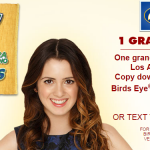 Veggin' In LA With Laura Marano Sweepstakes!  Plus Prize Pack #Giveaway with Birds Eye Vegetables!