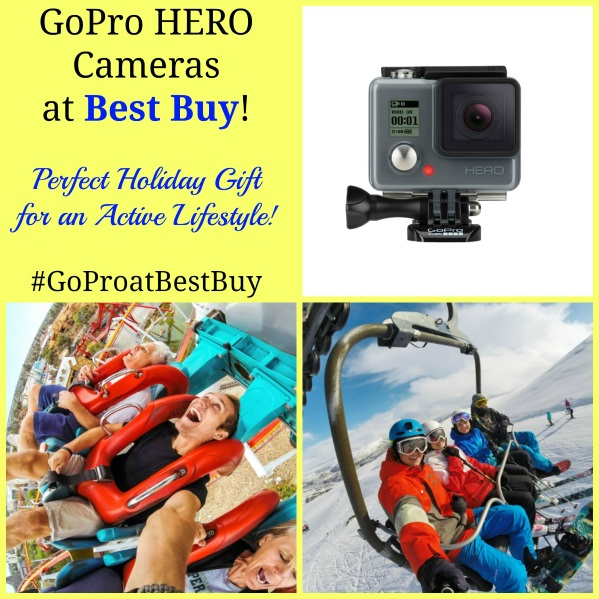 GoPro HERO Cameras at Best Buy! #GoProatBestBuy Perfect Holiday Gift for an Active Lifestyle!