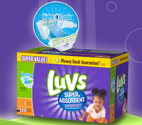 Luvs® Loyalty Program! Sign up for Savings and a Chance To WIN FREE Diapers for a Year!