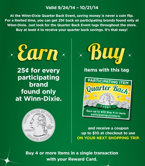 Quarterback Event at Winn Dixie