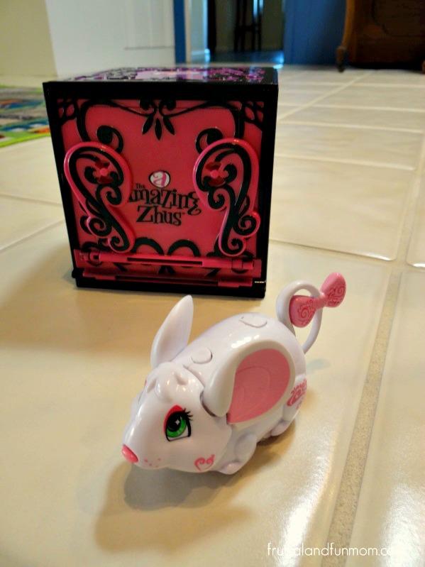 The Amazing Zhus Dissapearing Box with Abra #TheAmazingZhus