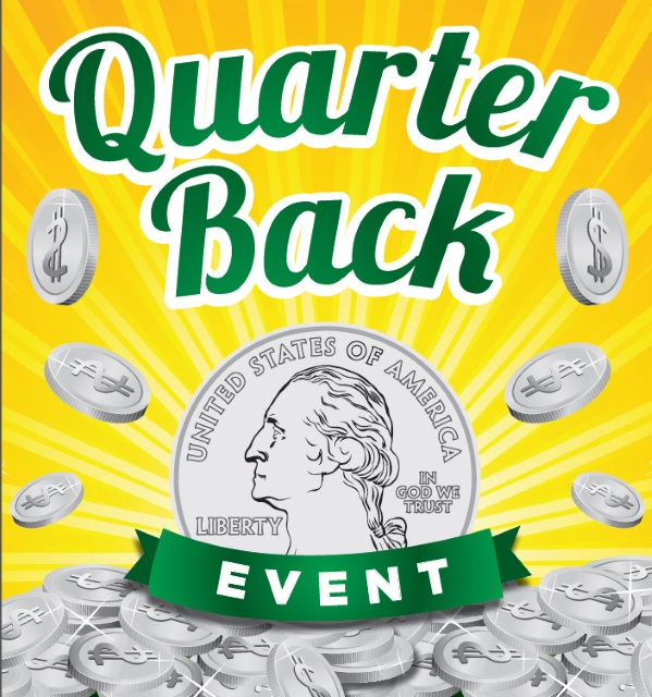 Winn Dixie Quarter Back Event