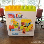 ABC Spell School Bus by Mega Bloks First Builders and Toddler Playtime! #FirstBuilders