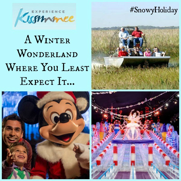 Visiting Kissimmee Florida for the #SnowyHoliday Event! A Florida Winter Wonderland!