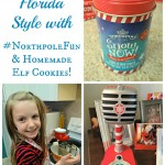 Winter Time Florida Style with #NorthpoleFun and Homemade Elf Cookies! #Shop