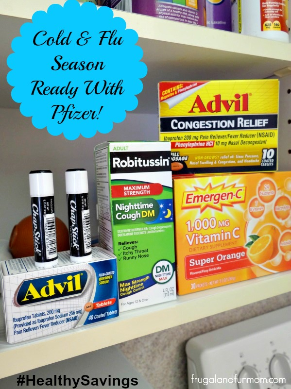 Organizing The Medicine Cabinet for Cold and Flu Season With Pfizer! #HealthySavings #Shop #CollectiveBias