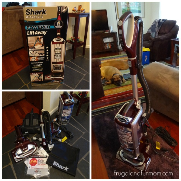 Shark Vacuum Assembly