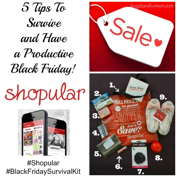 5 Tips To Survive and Have a Productive Black Friday! #Shopular #BlackFridaySurvivalKit