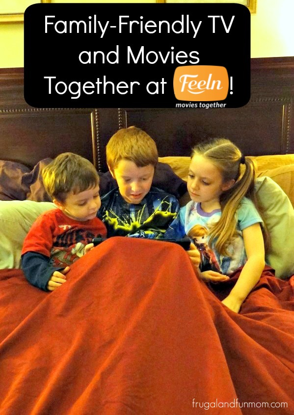 Kids Watching Feeln Network With Family Friendly Movies