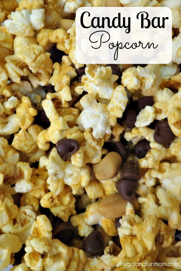 Candy Bar Popcorn Mix #PopSecretForts