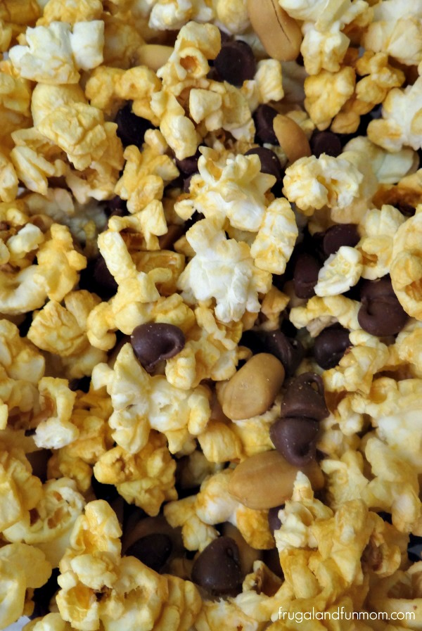 Candy Bar Popcorn Mix Recipe