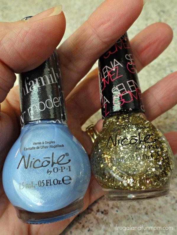Nail Color for Cinderella Nail art