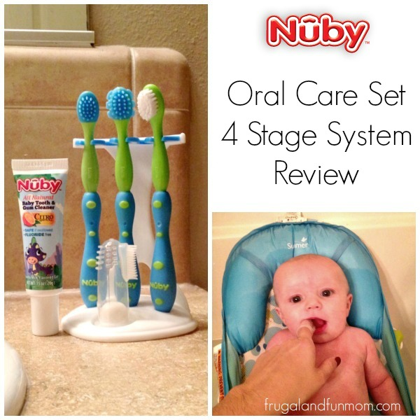 Nuby Oral Care Set 4 Stages Review