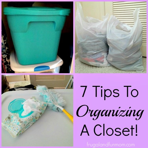 Tips To Organizing a Closet