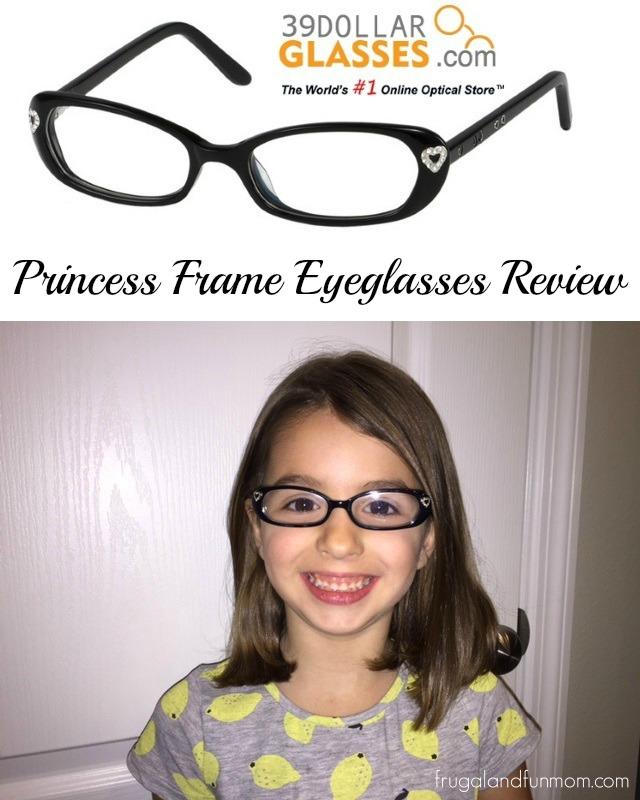 39dollarglasses.com Princess Eyeglasses Review! Plus $75 Gift Code Giveaway for Free Glasses!