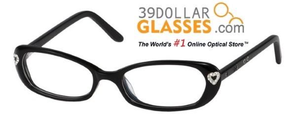 Black Princess Child Frame 39 Dollar Glasses
