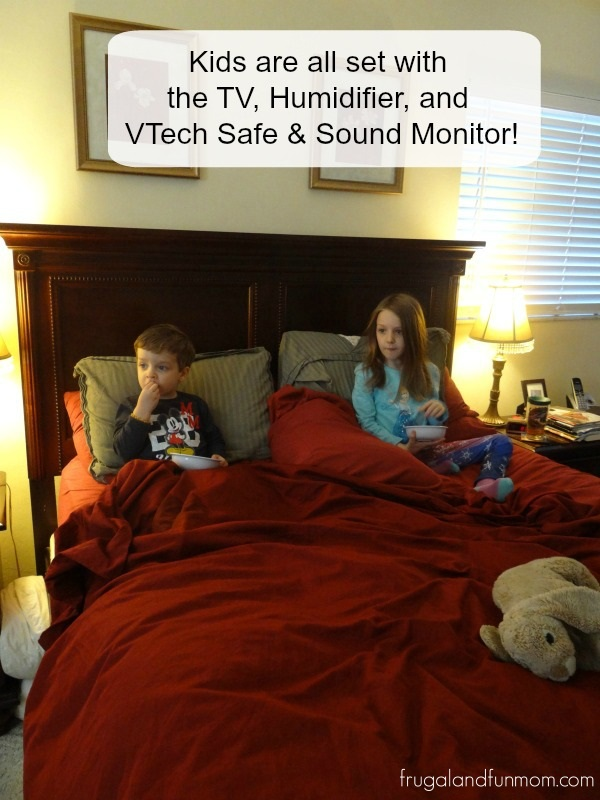 Children being watched by Monitor from VTech